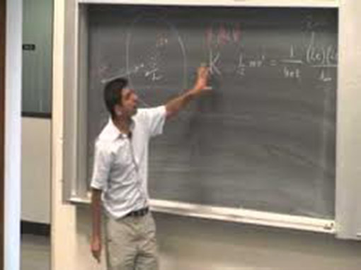 Chalkboard Lecture